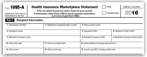 Health Insurance Marketplace Statements | Internal Revenue Service