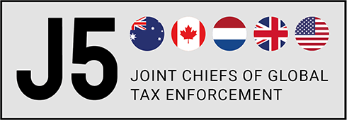Joint Chiefs of Global Tax Enforncement logo