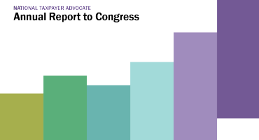 National Taxpayer Advocate Annual Report to Congress