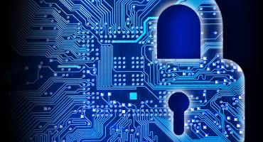 Blue Security Lock