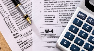 Updated Withholding Calculator, Form W-4 Released