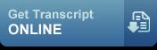 Get Transcript Online button