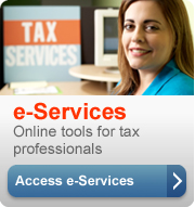 Access IRS online tools for tax professionals.