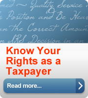 taxpayer bill of rights toolkit button