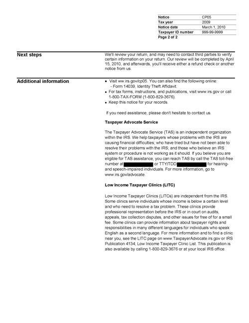 Notice CP05, Page 2
