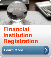 Learn more about Financial Institute Registration