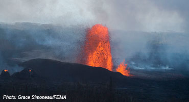 Hawaii Volcano Eruption