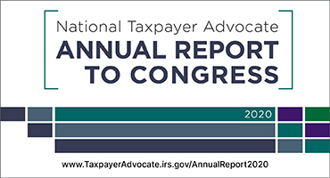 National Taxpayer Advocate 2020 Report to Congress