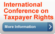 International Conference on Taxpayer Rights, More Information(button).