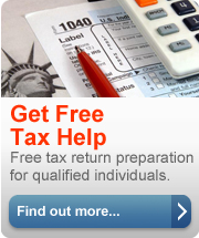 Get Free Tax Help. Free tax return preparation for qualified individuals. Find out more.